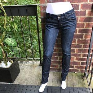 Hudson Jeans Colleen Flap Skinny Blue Women's